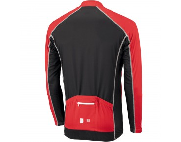 ROSE DESIGN III Langarmtrikot black/red