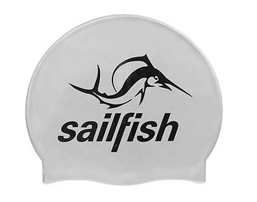 sailfish Silikon Cap swimming cap silver