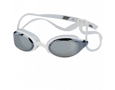Zoggs Fusion Air swimming goggles white/mirrored lens