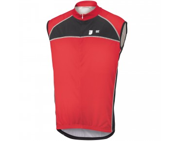 ROSE DESIGN III sleeveless jersey black/red