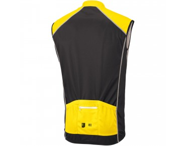 ROSE DESIGN III Trikot ärmellos black/yellow