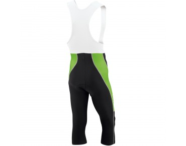 ROSE DESIGN III 3/4-length bib tights black/green