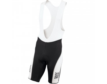 ROSE DESIGN III bib shorts black-white