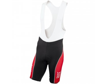 ROSE DESIGN III bib shorts black/red