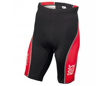 ROSE DESIGN III fietsbroek black/red