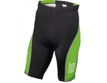 ROSE DESIGN III cycling shorts black/green
