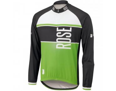 ROSE Langarm Trikot LINIE 11 black/green