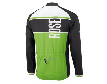 ROSE LINIE 11 long-sleeved jersey black/green