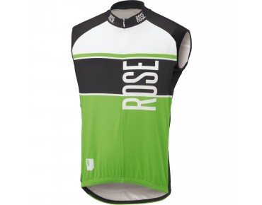 ROSE Trikot LINIE 11 ärmellos black/green