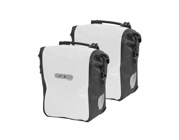 ORTLIEB SPORT-ROLLER City set of two pannier bags white/black
