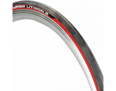 Michelin Lithion2 Rennradreifen rot/schw.