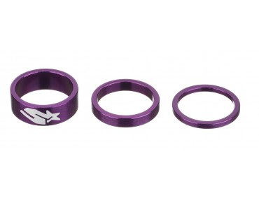 Spank Tweet Tweet Tri Spacer kit purple