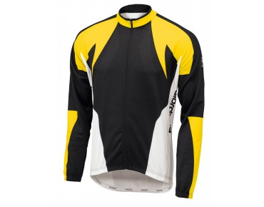 Giordana long sleeve jersey TRADE FORMA black/yellow