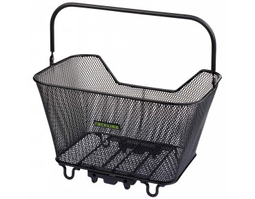 Racktime Bask-it rear bicycle basket schwarz