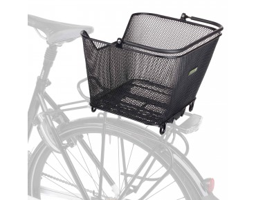 Racktime Bask-it rear bicycle basket black