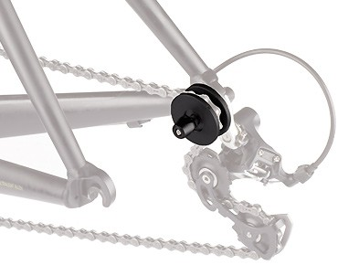 ROSE XS chain holder black