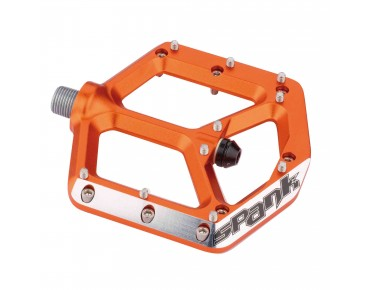 Spank Pedalsatz Spike orange