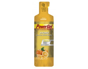 PowerBar Hydro gel- the carbohydrate supplier orange