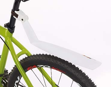 SKS Germany SKS X-TRA DRY MTB rear mudguard white