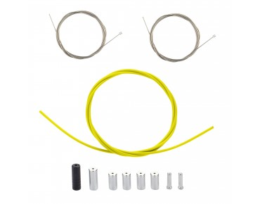 SHIMANO PTFE shift cable set yellow