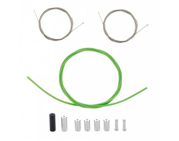 SHIMANO PTFE shift cable set grün