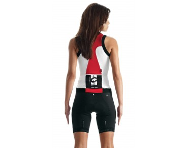 ASSOS NS.superLeggera mouwloze damesjersey red