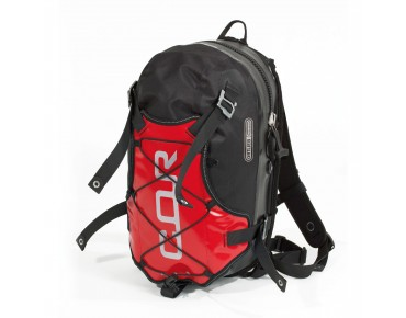 ORTLIEB COR 13 backpack black/red