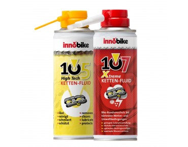 innobike all-weather chain fluid set