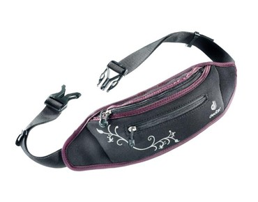 deuter NEO BELT I hip bag black/aubergine