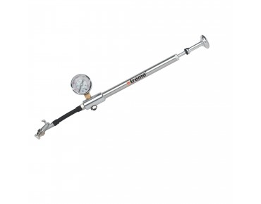Xtreme Shock Blow Pro rear shock/suspension fork pump silver