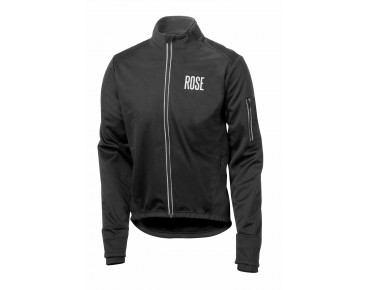 ROSE Rad Jacke WIND FIBRE (Thermo-Windschutz) black