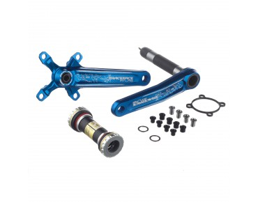 Race Face Atlas crankset – BSA 83mm – blue