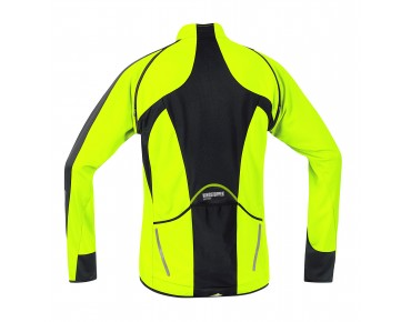 GORE BIKE WEAR PHANTOM 2.0 WS SO zip-off-jacket day-glo yellow/black