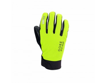 GORE BIKE WEAR UNIVERSAL GORE-TEX THERMO - guanti invernali neon/black