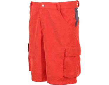 ziener CAFER bike shorts new red cord