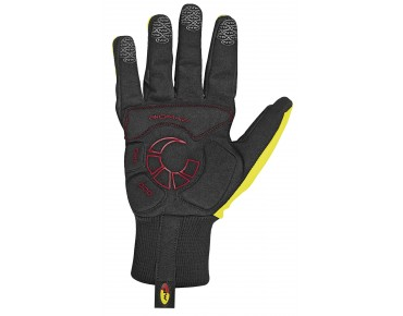 NORTHWAVE POWER Handschuhe black/yellow fluo