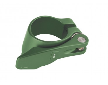 ROSE SC-51 seat tube clamp with quick release green