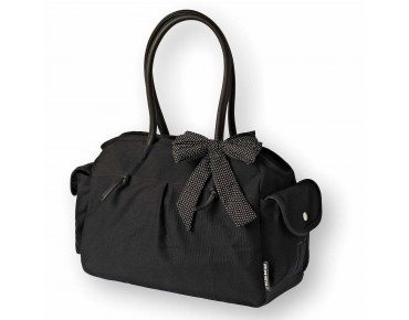 BASIL KATHARINA SHOULDER BAG - borsa bici donna black&dots