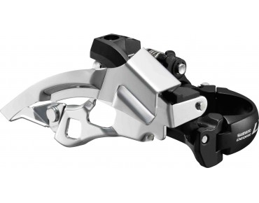 SHIMANO Deore LX FD-T670-6 — Top Swing — front derailleur black