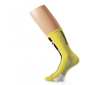 ASSOS intermediateSocks_S7 Socken yellow