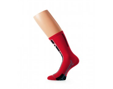 ASSOS intermediateSocks_S7 Socken red