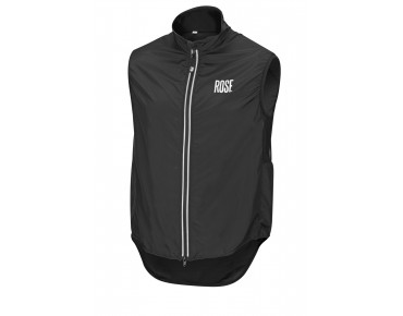 ROSE PRO FIBRE II windproof vest black