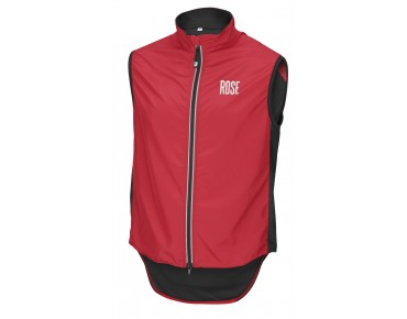 ROSE PRO FIBRE II windproof vest red
