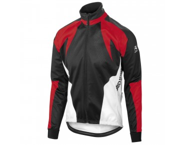 Giordana TRADE FORMA Rad Thermo-Jacke mit Windschutz black/red