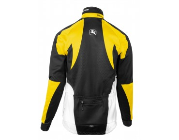 Giordana TRADE FORMA Rad Thermo-Jacke mit Windschutz black/yellow
