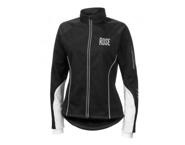 ROSE Damen Rad Jacke WIND FIBRE black/white