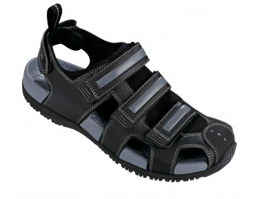 ROSE RMTS 02 Bike-Sandalen black/grey
