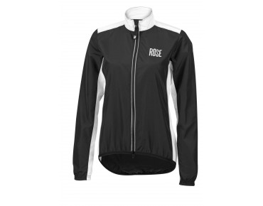 ROSE PRO FIBRE Damen Rad Jacke black/white