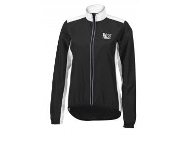 ROSE PRO FIBRE women's cycling jacket black/white