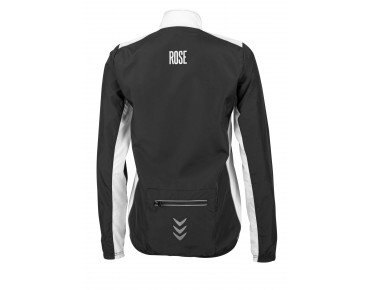 ROSE PRO FIBRE WIND women's windbreaker black/white
